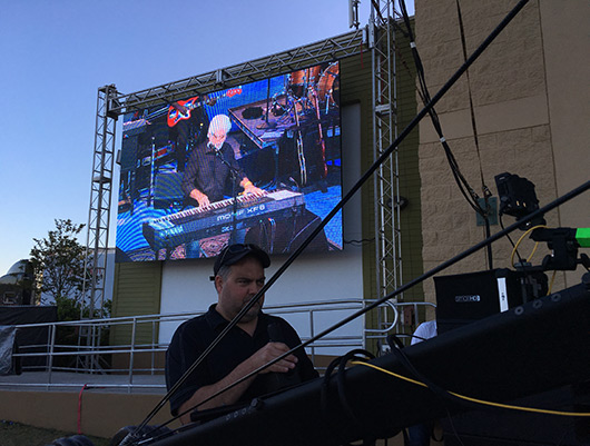 Live video, Jazz fest Panama City, Pro video, pro audio